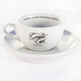 Grand Cafe Espresso Cup & Saucer